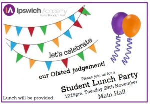 student_lunch_party_ofsted_judgment
